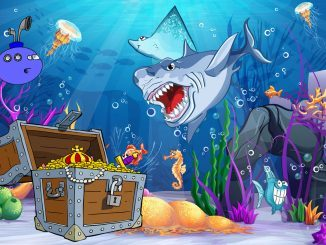 schnitzeljagd für kinder mit unterwasser thema