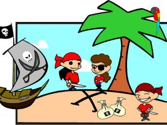 piraten schnitzeljagd
