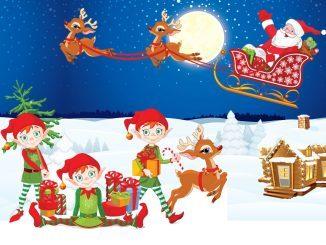 weihnachten mit schnitzeljagd spiele für Kinder