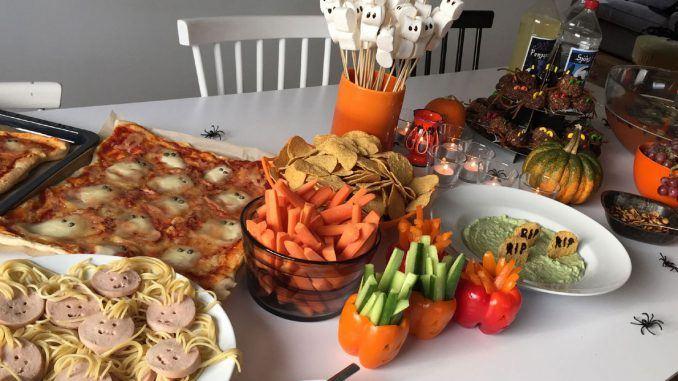 halloween essen